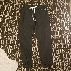 Vs pink S campus jogger skinny sweatpants new